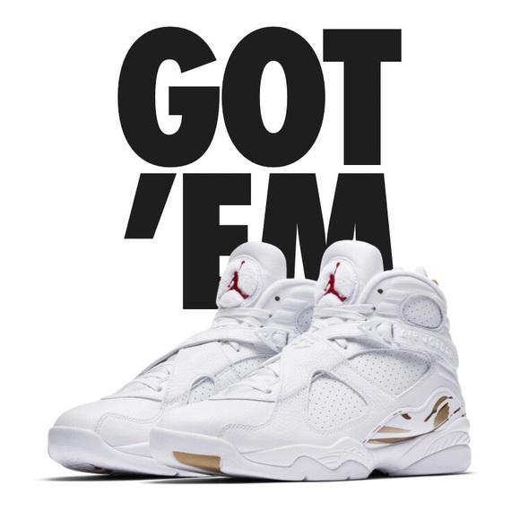 0785295d640c0e Drake OVO Jordan 8s. Boutique. Nike